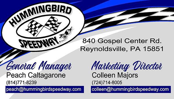 Hummingbird Speedway Marketing Business
