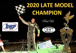 (HB-0690)Late Model Champion-Paul Kot .j