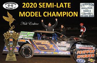 (HB-0691))Semi Late Model Champion-Nick