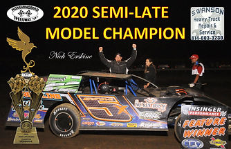 (HB-0691))Semi Late Model Champion-Nick