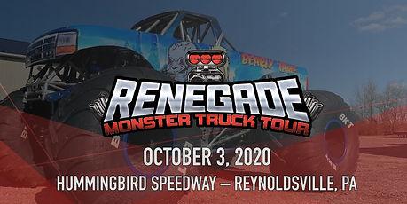 10-3-2020 - Renegade Monster Truck Tour.
