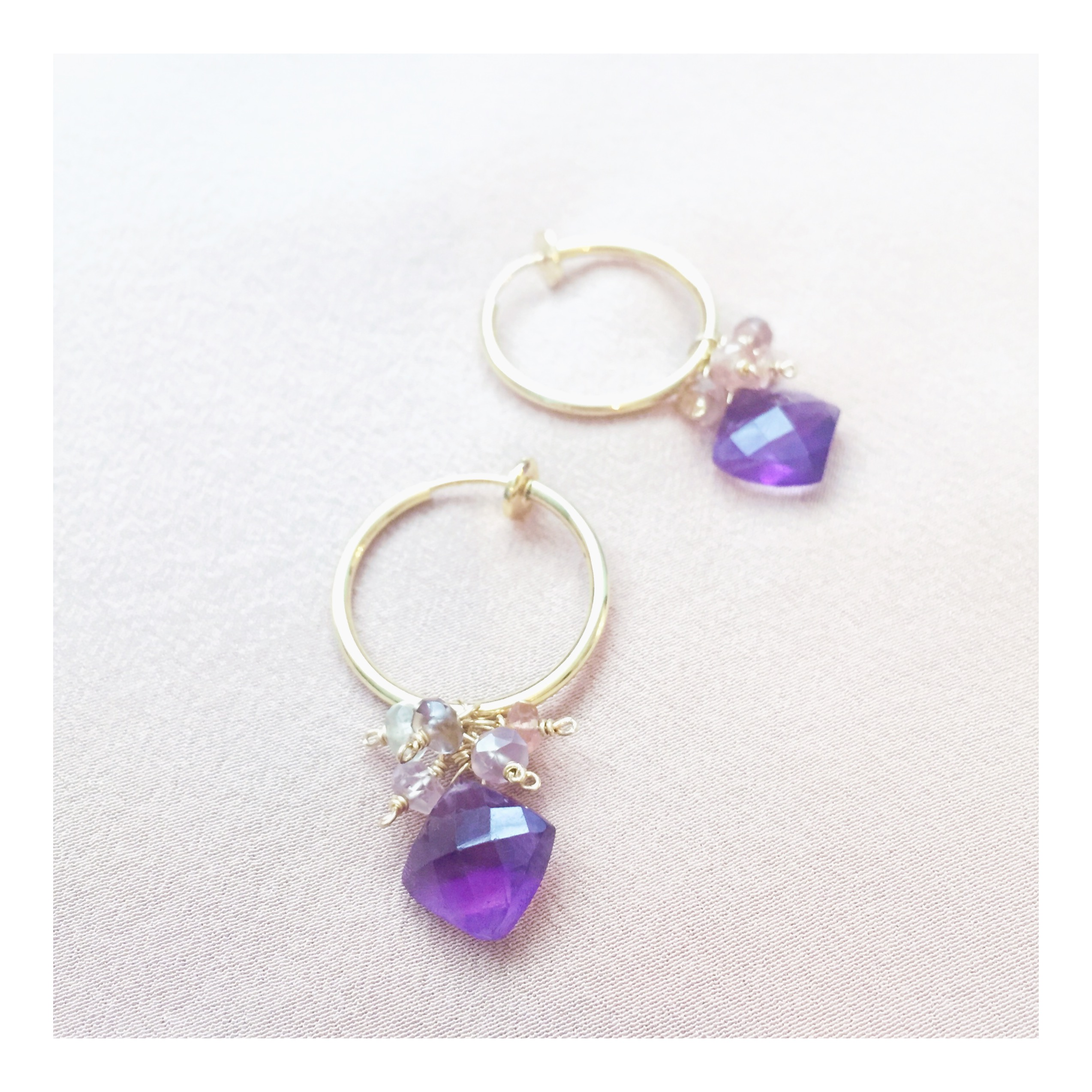 """Strawberry Dream""  Amethyst + Spine"