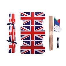 Union flag Christmas cracker kit