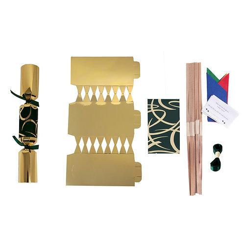 Gold & Green Swirls - L30 - P1