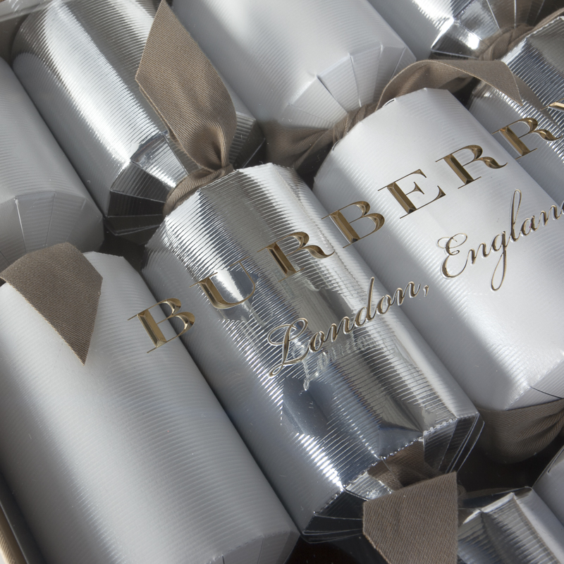 Burberry Christmas Crackers