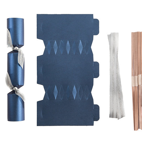 Midnight Blue Wedding crackers - Pack of 12