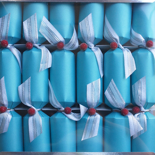 Turquoise Christmas Crackers