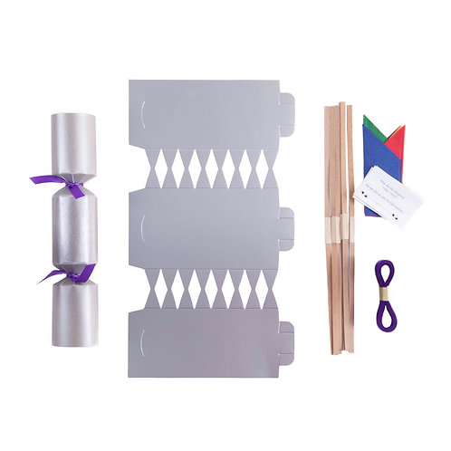 Silver Cracker - No wrap - 1 cracker