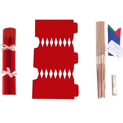 Red Foil Christmas Crackers