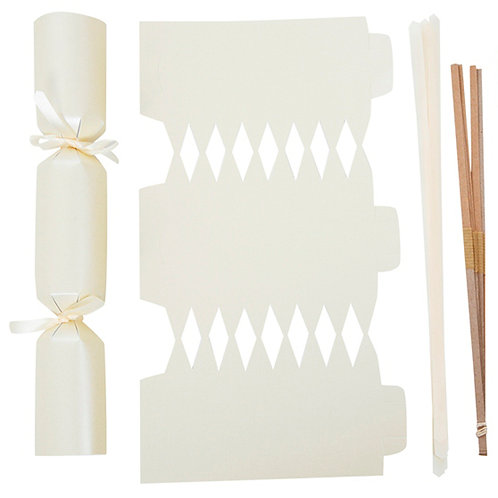Ivory Wedding crackers - Pack of 12