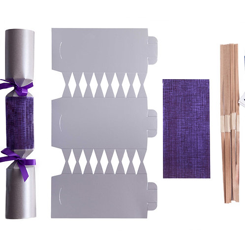 Silver & Purple 1W - 1 cracker