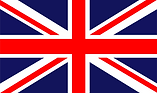 Made in Britain symbol printed on a flag