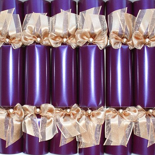 Purple Christmas Crackers