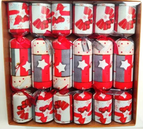 Red Festive Crackers