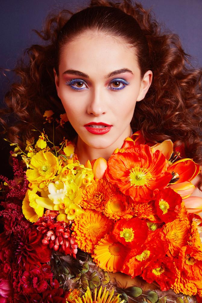 Vintage Spring Floral Fashion