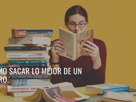 Cómo sacar lo mejor de un libro.