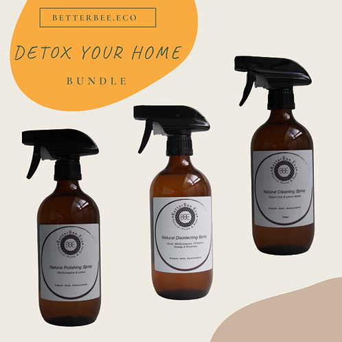 Detox Your Home Starter Kit