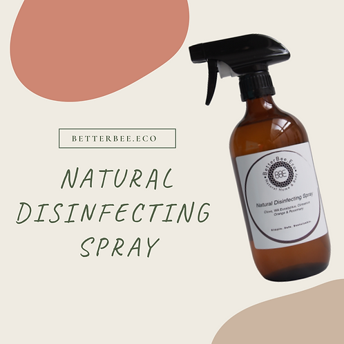 Wholesale: Natural Disinfecting Spray