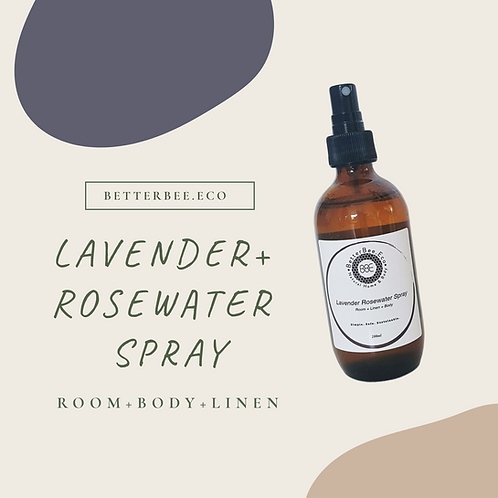 Wholesale: Lavender Rosewater Spray 200mL