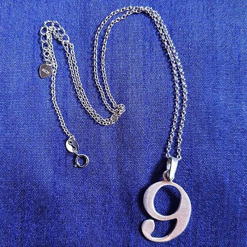 Divine nine Silver pendant