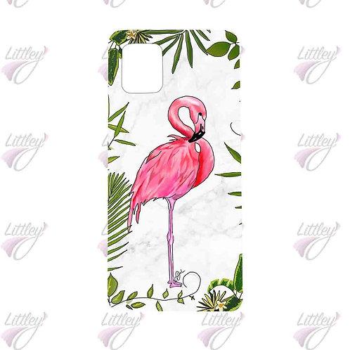 Elegant Flamingo mobile back cover