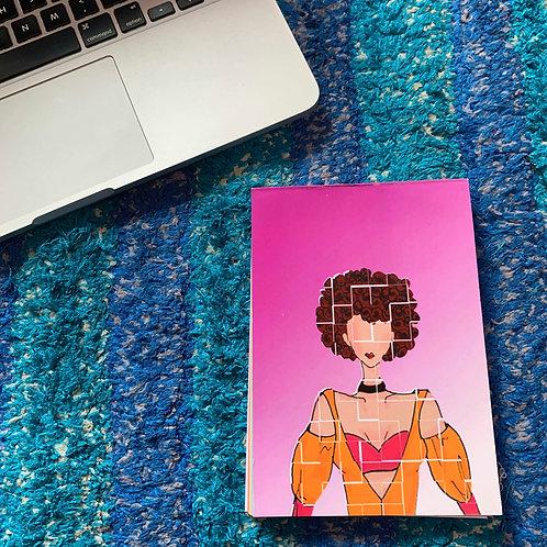 Pink influencer Notebook