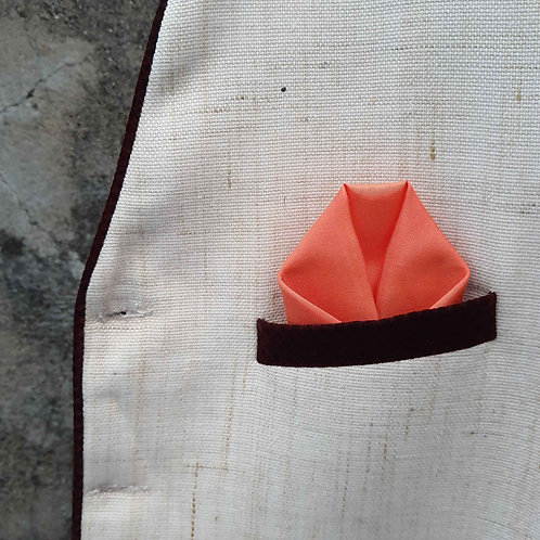 Warm layers pocket square