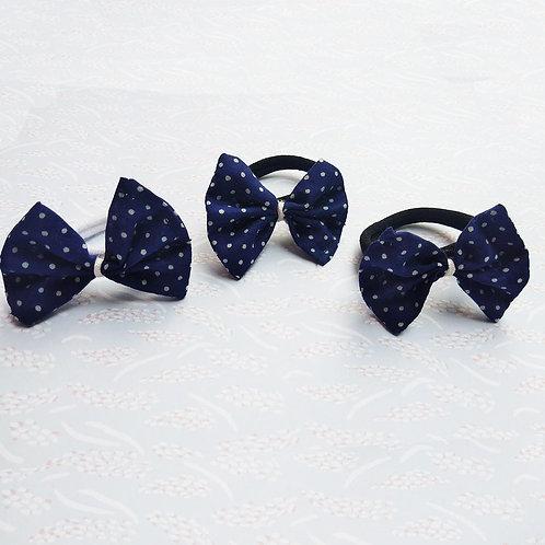 Polka dot Hair ties - Pack of 3