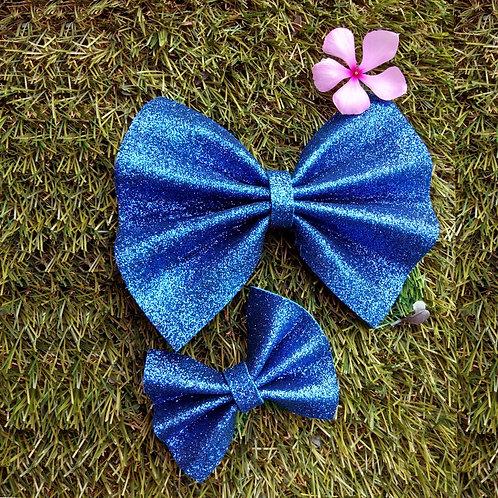 Glitter bow set
