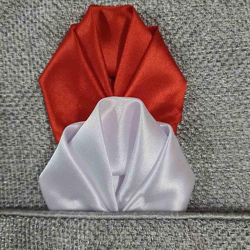 Sleek wrap pocket square