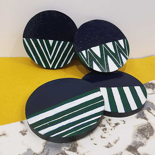 Lovely Linear coaster set