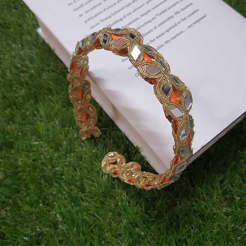 Golden glow traditional hairband