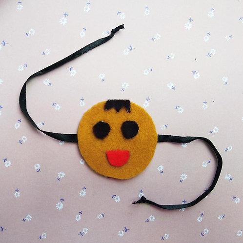 Smile emoji Rakhi for Kids