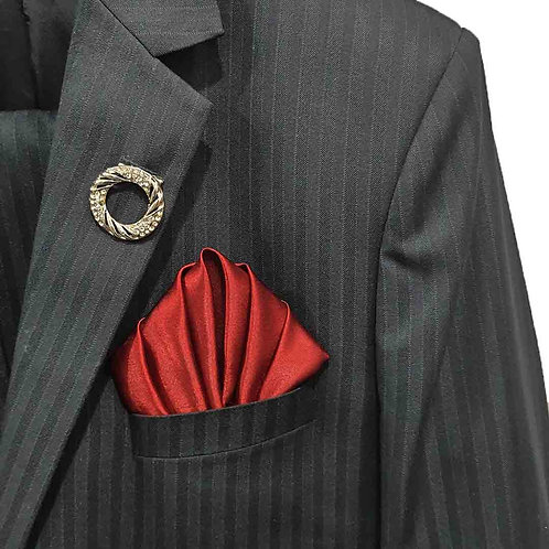 Mysterious fold pocket square