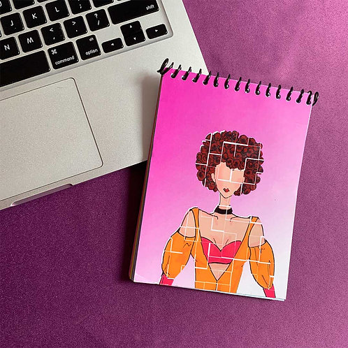 Pink influencer spiral Notebook