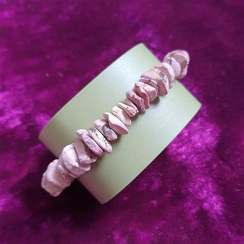 Evening sand textured wristband