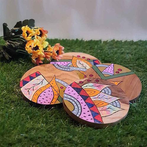 Mind boggling puzzle coaster set