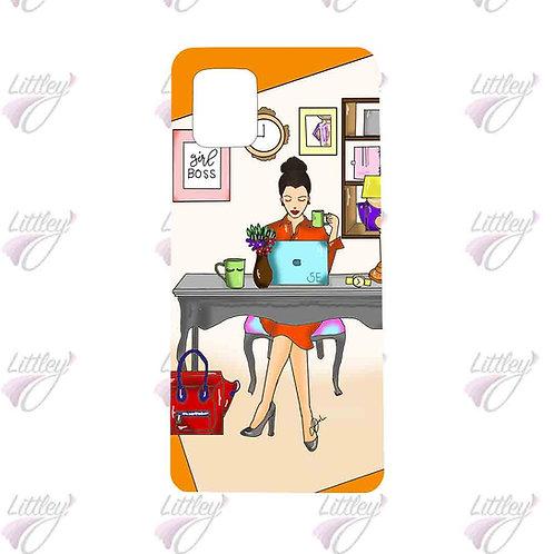 Girl Boss mobile cover