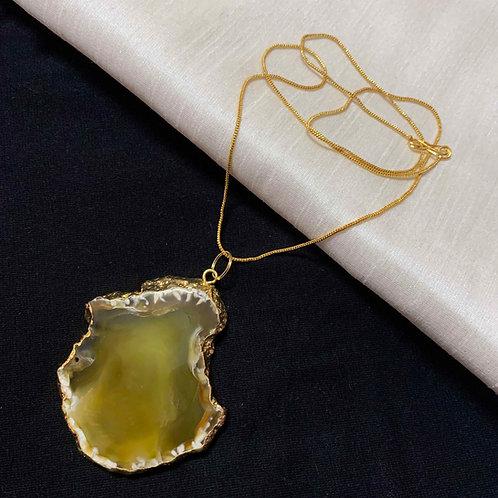 Fuggles Agate stone neckwear