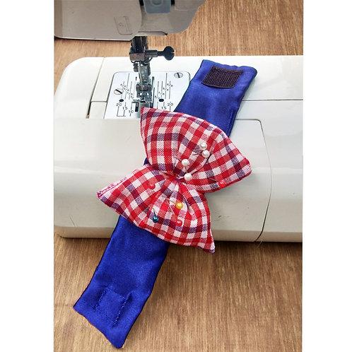 Checkered bow Pin Cushion