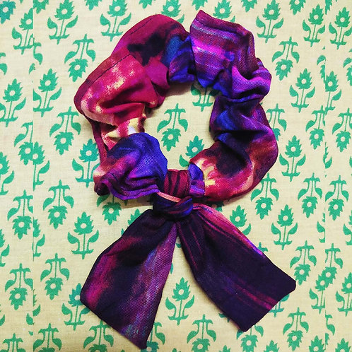 Tie & Dye Hair Scrunchie