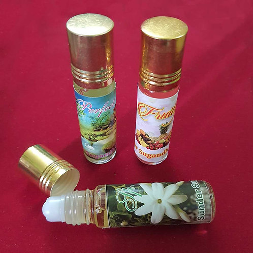 Trio fruity roll on perfume