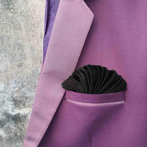 Designer waves pocket square