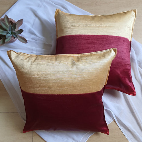 Dual fun Cushion cover