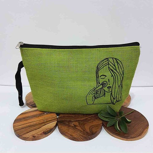 LOVE-ly multipurpose jute pouch