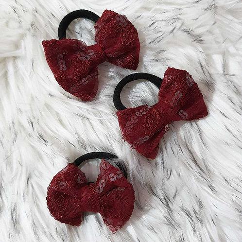 Triple beauty hair tie set