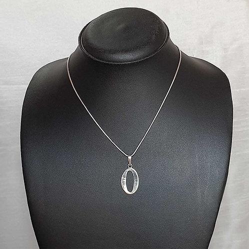 Endless 0 Silver pendant