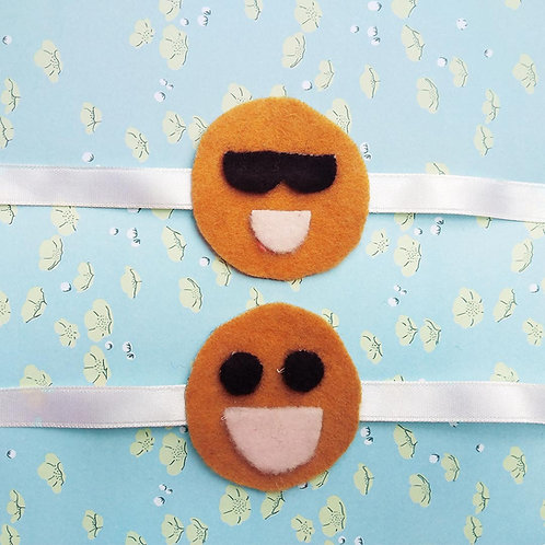 Smiley rakhi for Kids