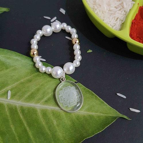 Sphartic pearl 2 in 1 rakhi