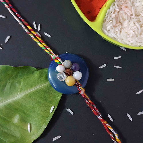 Agate stone premium Rakhi